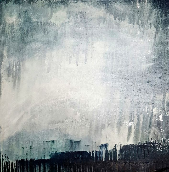 "Twilight Rain - Sold - ""Wildspringartstudio"" Laura Spring"