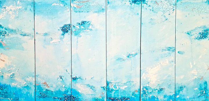 "Winter Fresh- SOLD - ""Wildspringartstudio"" Laura Spring"