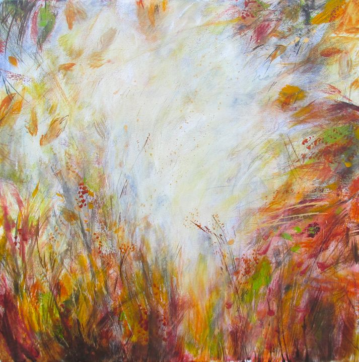 "Indian Summer Glow - ""Wildspringartstudio"" Laura Spring"