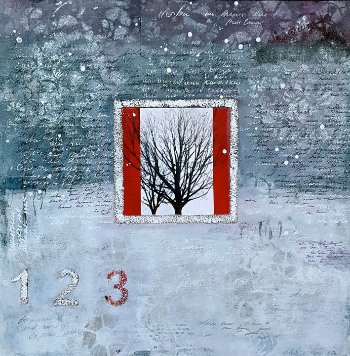"December mysteries-SOLD - ""Wildspringartstudio"" Laura Spring"