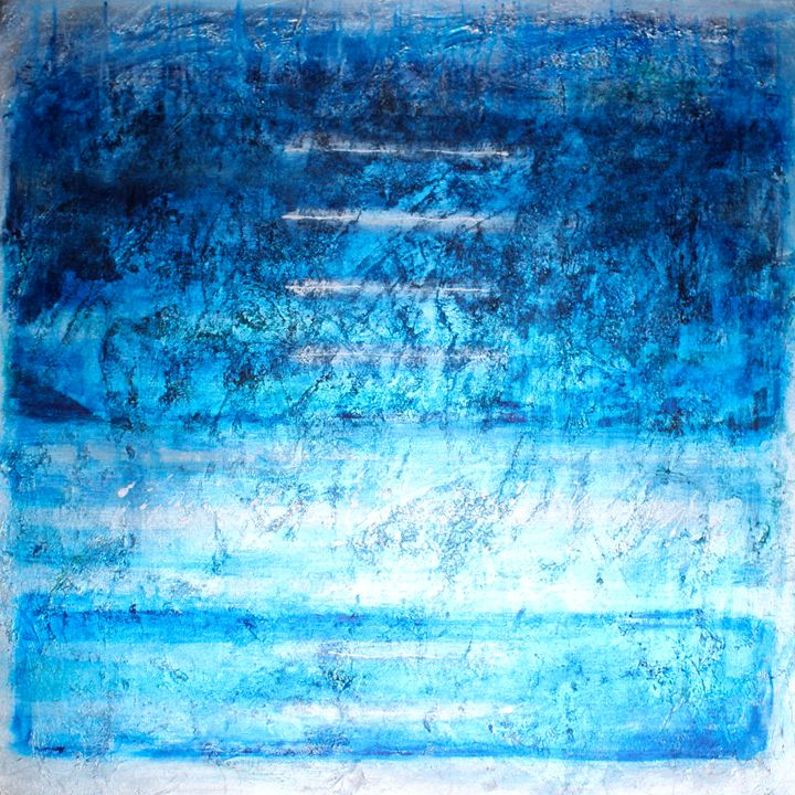 "Dream layers-SOLD - ""Wildspringartstudio"" Laura Spring"