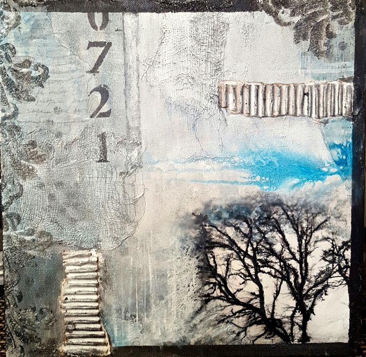 "Cold outside - ""Wildspringartstudio"" Laura Spring"