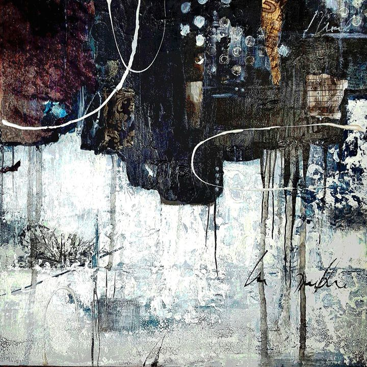 """When you only see black and white-SO - """"Wildspringartstudio"""" Laura Spring"""
