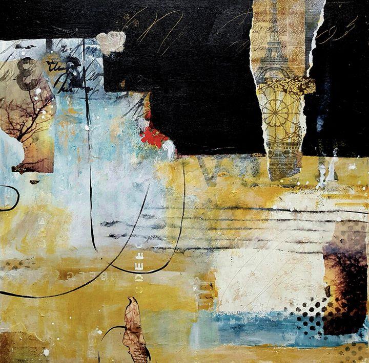 "Reflection - Sold - ""Wildspringartstudio"" Laura Spring"