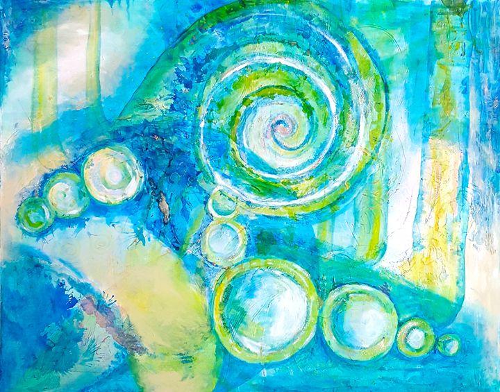 "Celestial - ""Wildspringartstudio"" Laura Spring"