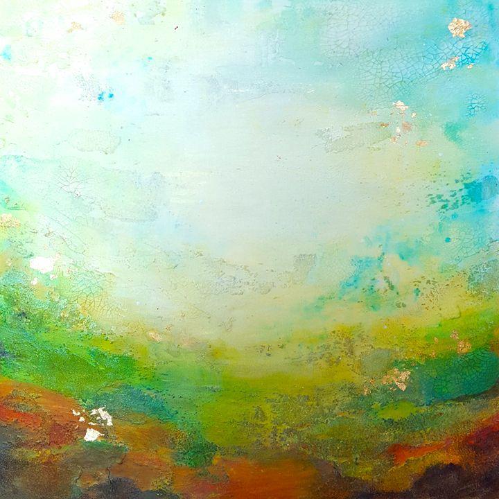 "Spring Waltz-SOLD - ""Wildspringartstudio"" Laura Spring"