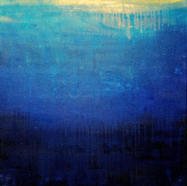 """Ocean of Sorrow-SOLD - """"Wildspringartstudio"""" Laura Spring"""