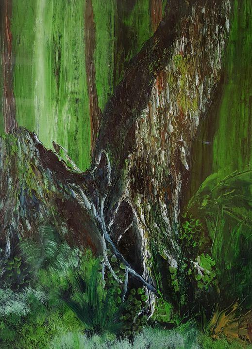 Tree stumps - Carol @ Centon