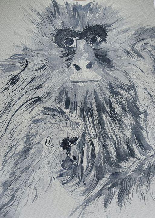 2 apes - Carol @ Centon
