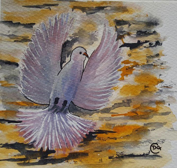 A Heavenly bird - Carol @ Centon