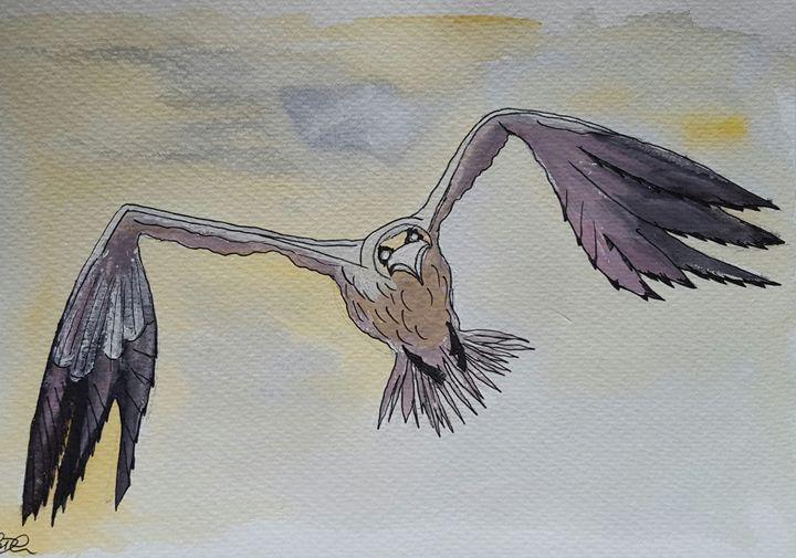 Flying eagle - Carol @ Centon