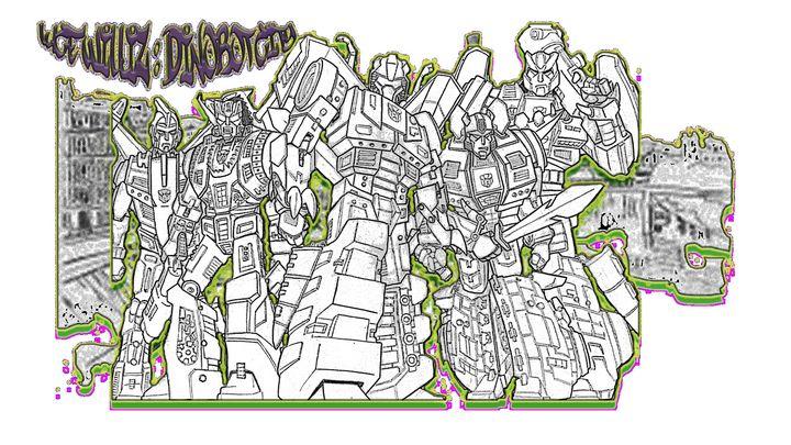 DinoBot City - The Epic Mind Of MugshotOne