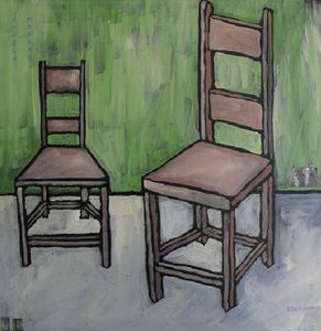 HYACINTH & REGINALD PENGATE'S CHAIRS