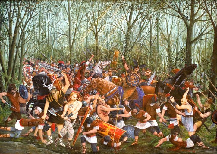 La Battaglia di Teutoburgo - Massimiliano Bernardi