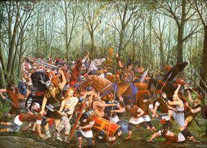 La Battaglia di Teutoburgo