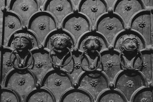 ST. MARKS DOOR by Carla Pivonski