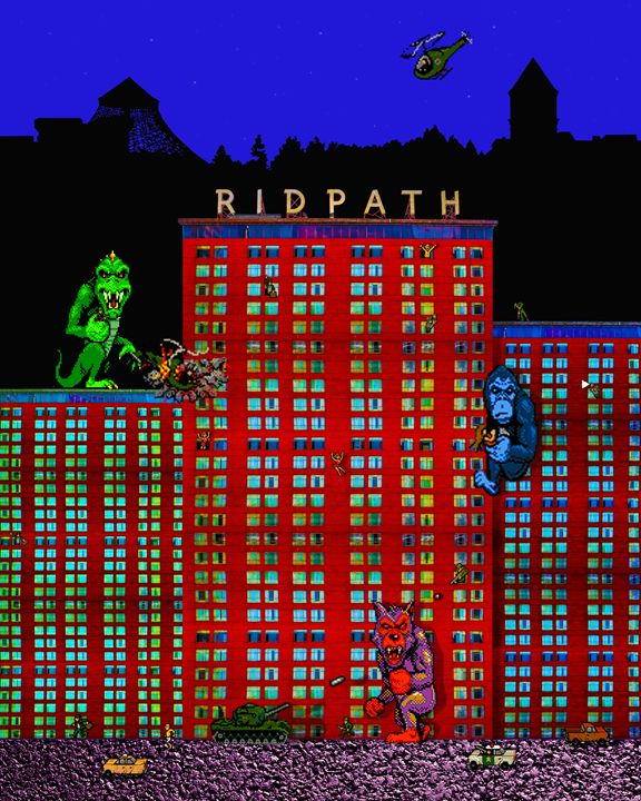 Ridpath Rampage - #pogAday