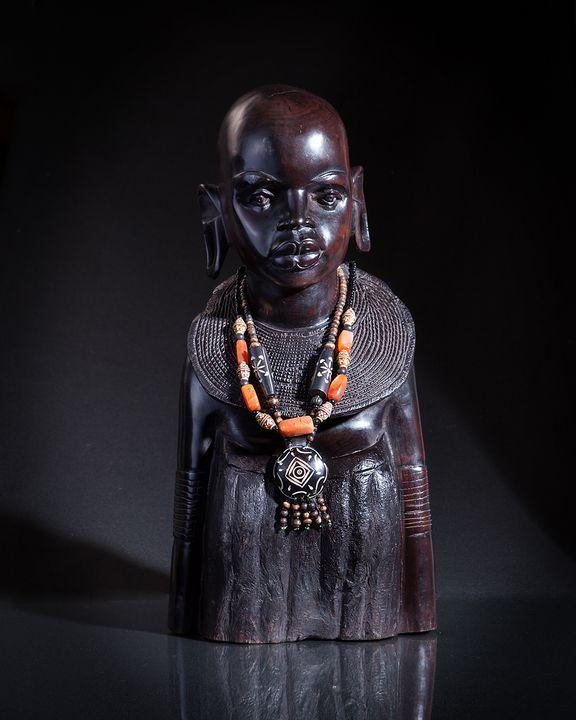 Masai Woman - Intefi