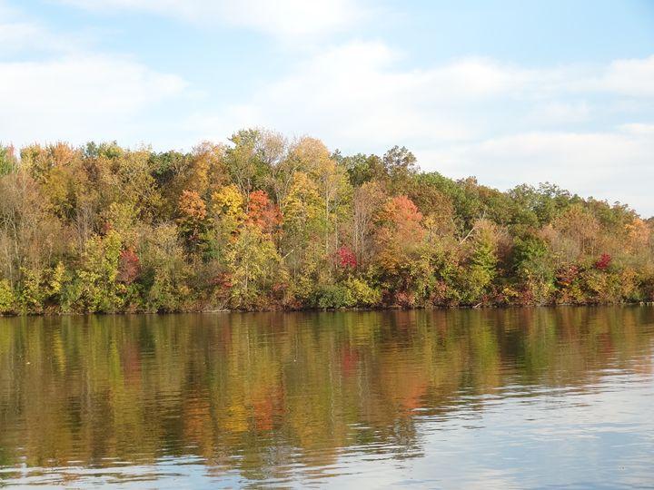 Fall Lake - Rice Photography