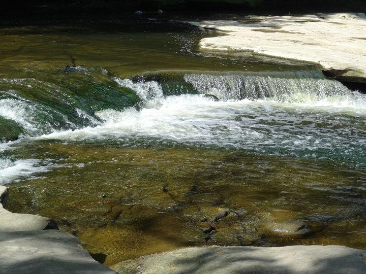Mini Waterfall - Rice Photography