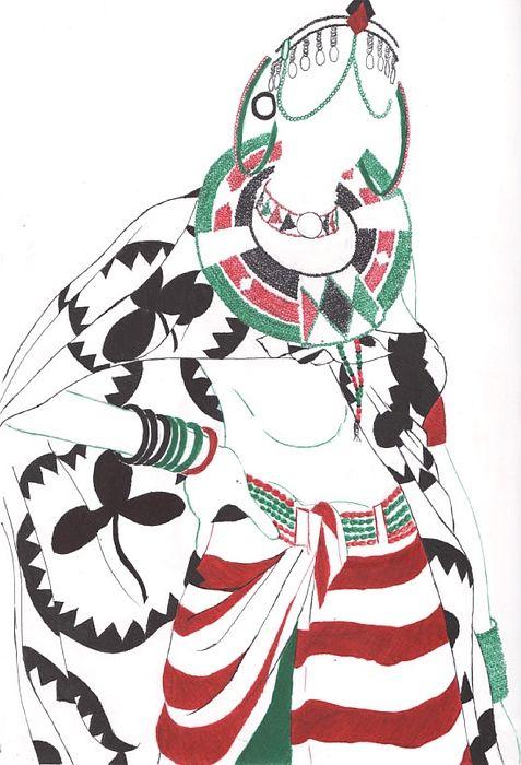 Kenyan Beauty -  Artsculpche1