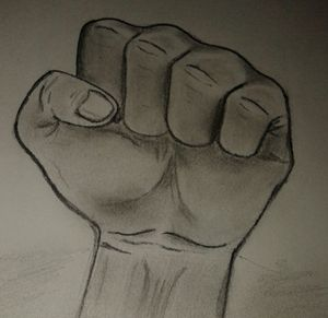 strength in fist