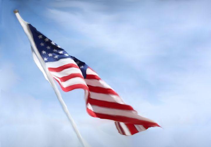 Flag for Dana - Paula Ray