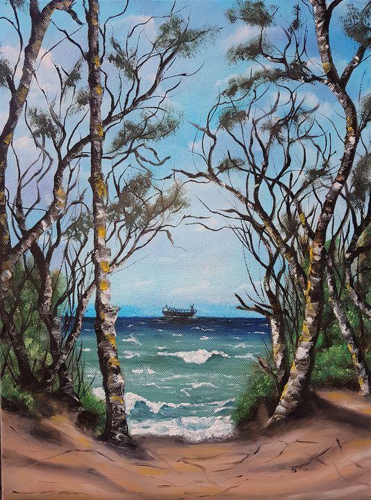 Seascape #9 - Elena Kovács