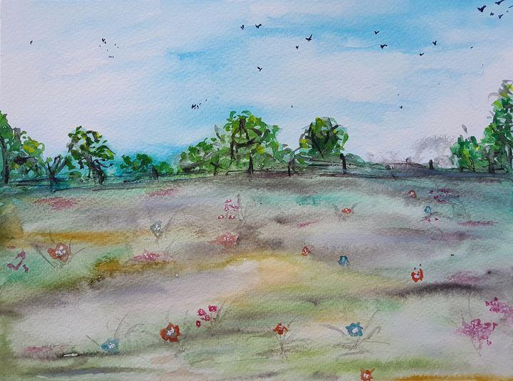 Landscape #44 - Elena Kovács