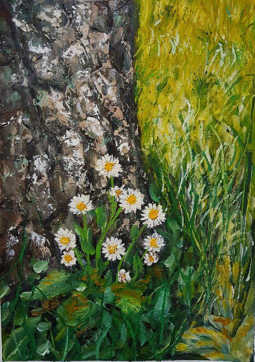 Original Oil Painting #47 - Elena Kovács