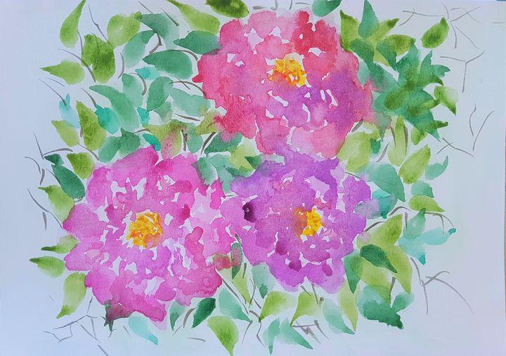 Flowers #55 - Elena Kovács