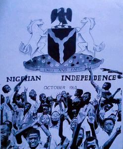 Nigerian Independence Oct 1st 1960