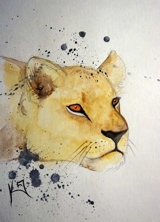 Panthera leo - Itsredribbon