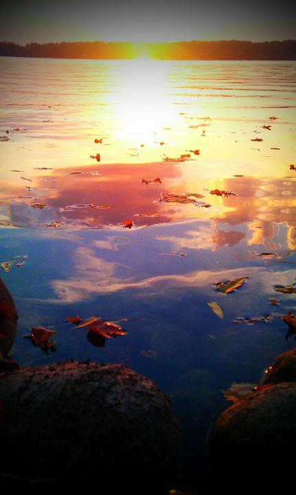 Fall Sunset - Kortenay's Gallery