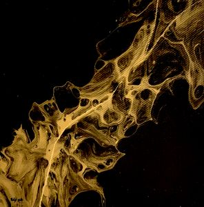 Abstract Gold Black