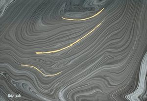 Abstract Silver Gray White