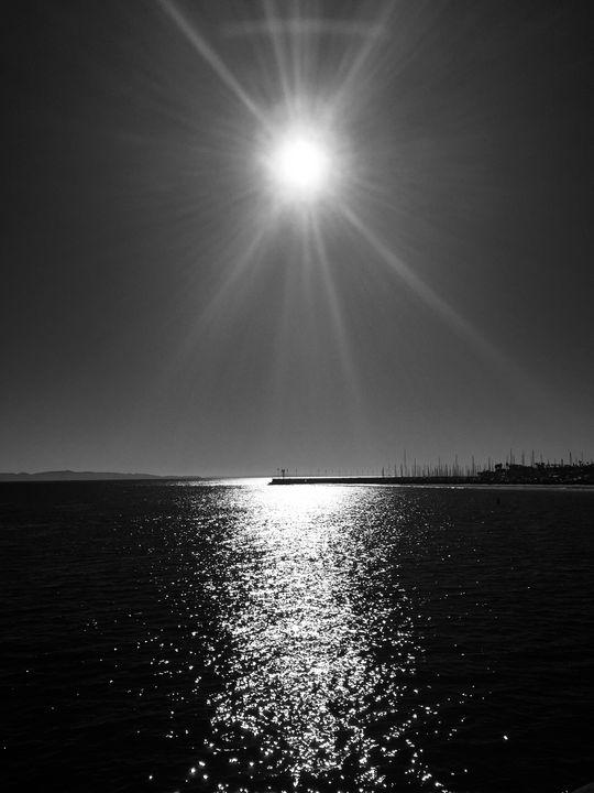 Shining Sun Over the Black Ocean - Brittany Jeanette