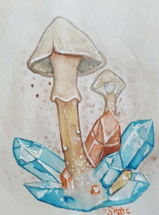 Mushroom - Abducted Artwork