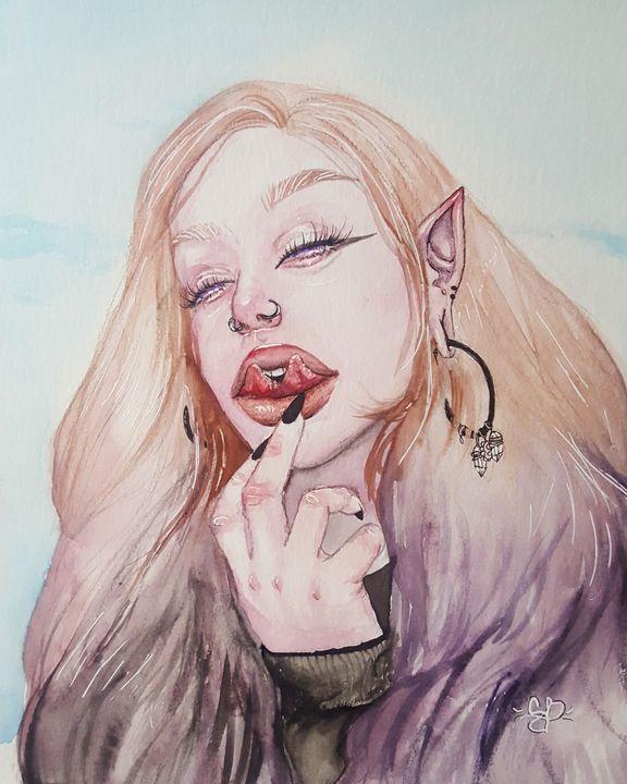 Violet - Abducted Artwork