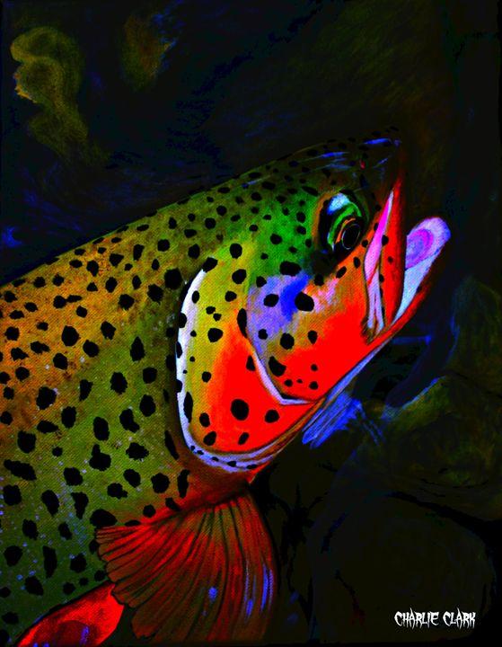 American Brown Full Colors - Charlie Clark Wild Art