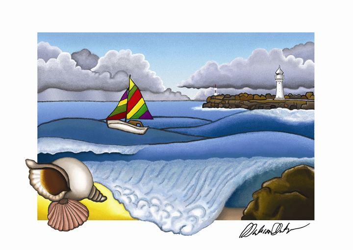 Wollongong Ocean Scene - Melissa White (Easelartworx)