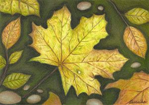 Autumn leaves - Melissa White (Easelartworx)
