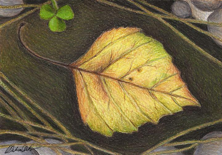 Autumn leaf - Melissa White (Easelartworx)