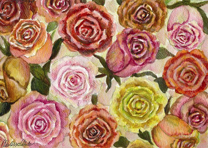 Roses - Melissa White (Easelartworx)