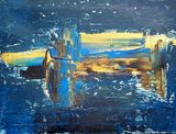 Blue, Golden Painting
