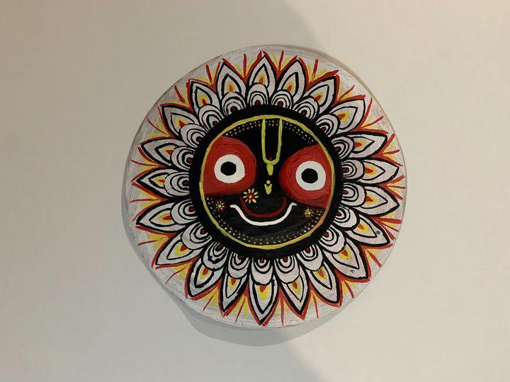 Mandala painting - Rinky
