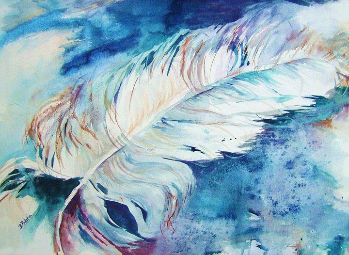 Blue Feather - BJ Pinkston