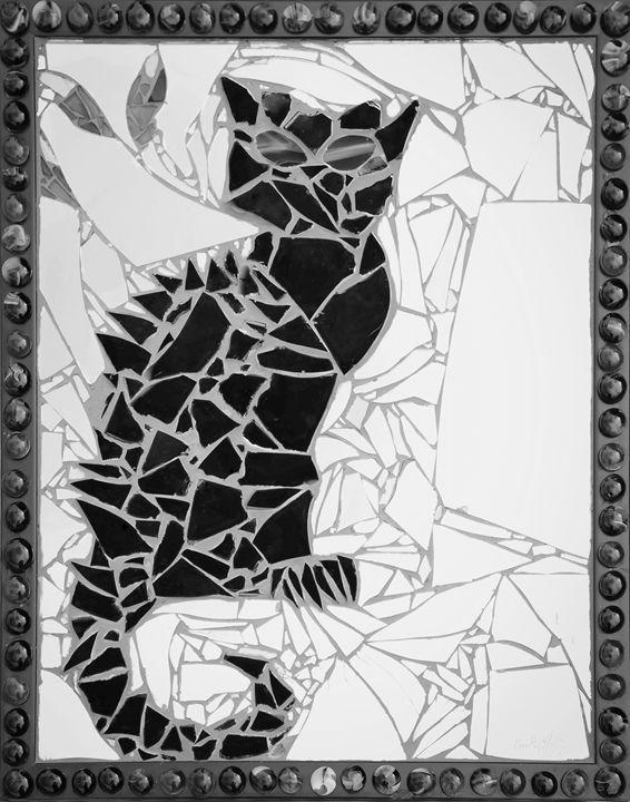 Bruce Wayne (Framed Black & White) - Emily Nantz