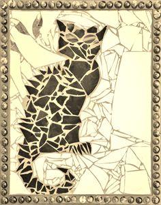 Bruce Wayne (Framed Vintage Gold)