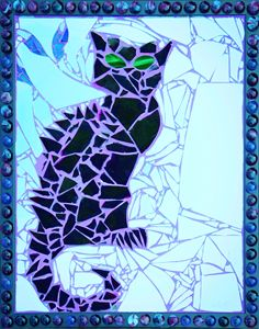 Bruce Wayne (Framed Blue Tint)